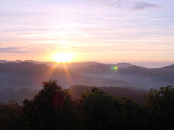 Lichtenberg (lever du soleil)