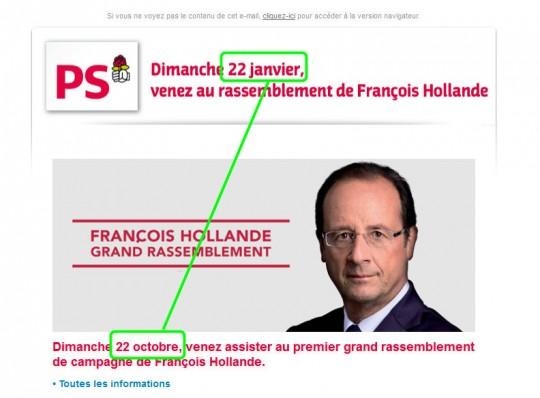 Hollande en octobre