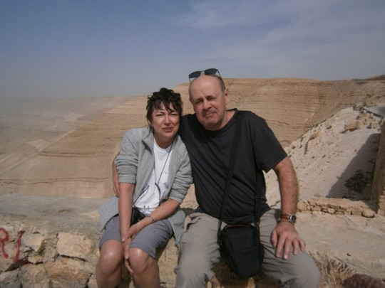 Jo et Zette en Jordanie