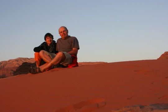 Jo et Zette dans le désert