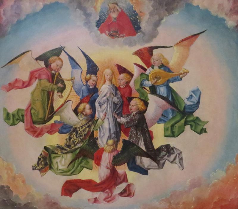 Une œuvre de Pater Hemmel von Andlau (musée Getty)