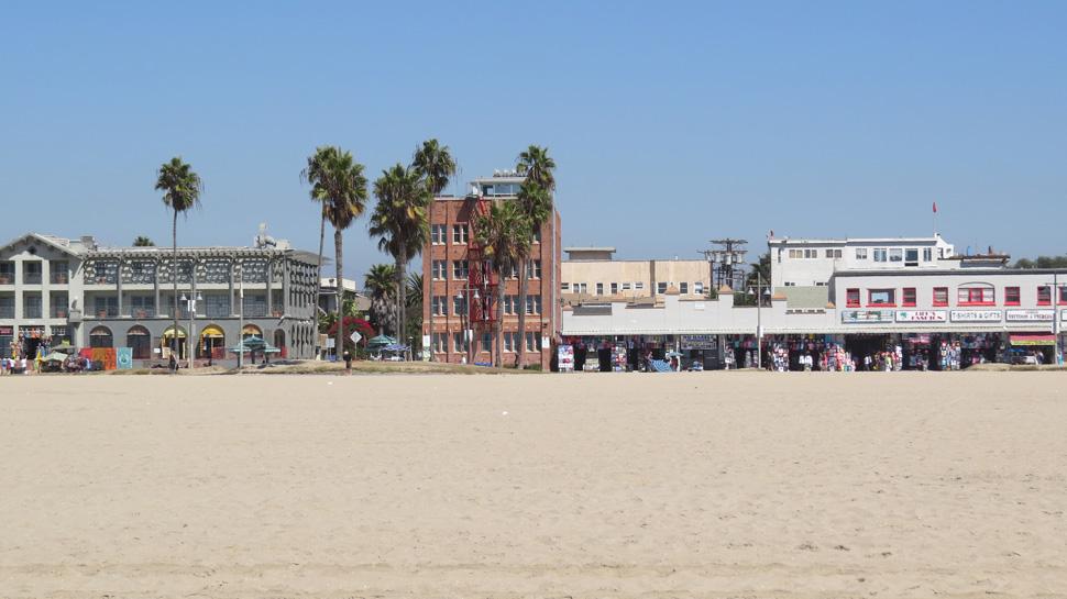Venice Beach et ses magasins de pacotille