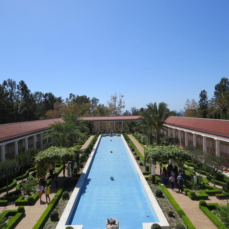 Les jardins de la Getty Villa