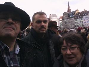 Strasbourg est Charlie
