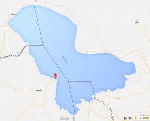Lac Tchad carte