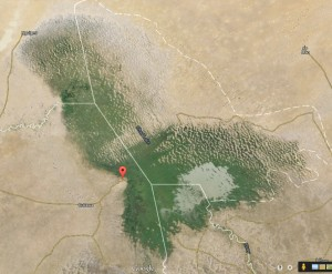 Lac Tchad image satellite