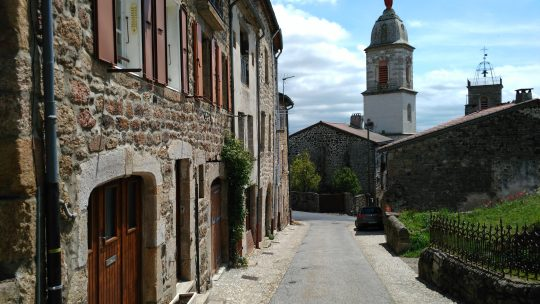 Pradelles, dernier village en Haute-Loire