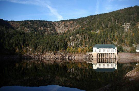 Usine hydroélectrique du lac Noir