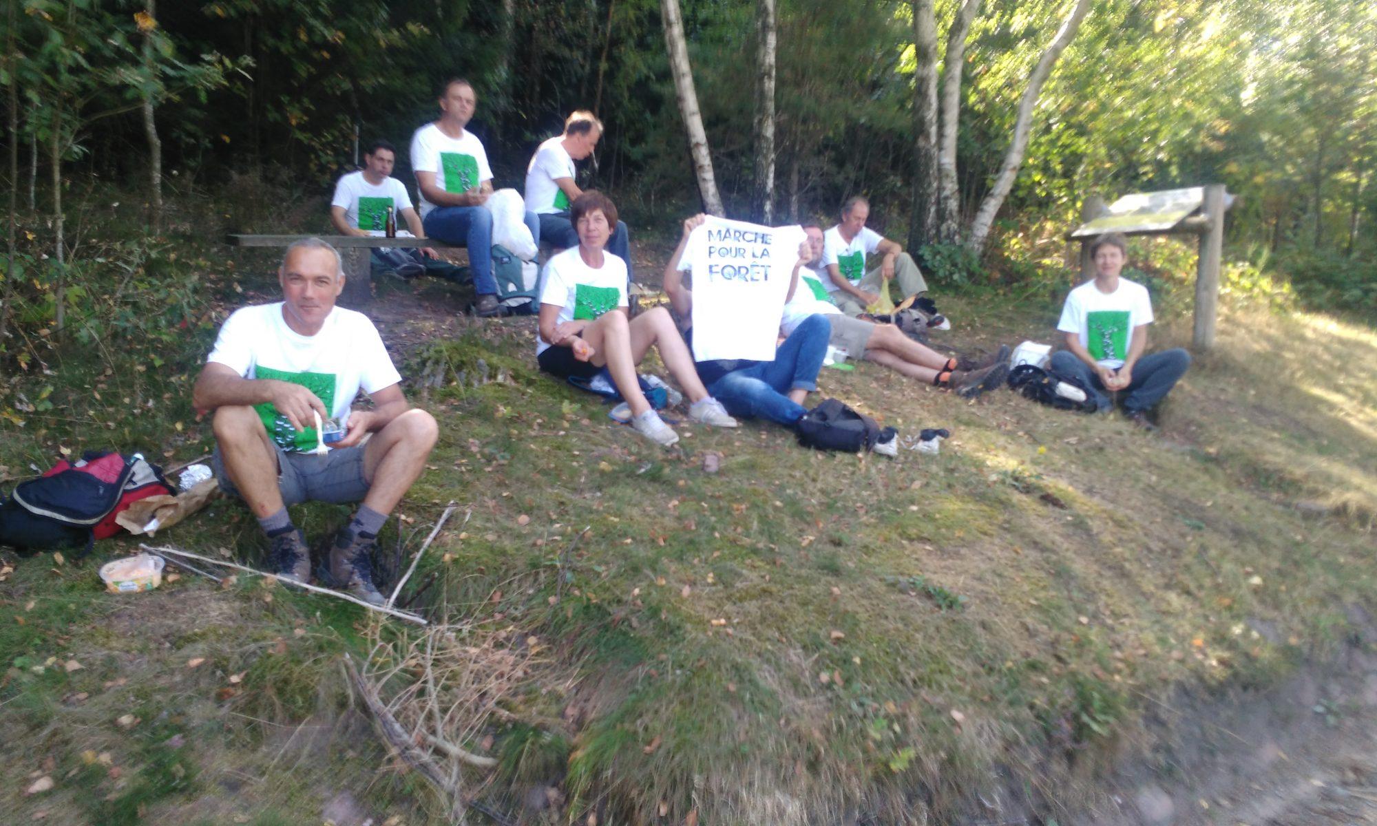 Marche pour la forêt à l'appel de l'intersyndicale de l'ONF