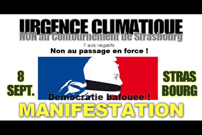 Urgence climatique, dites NON au GCO