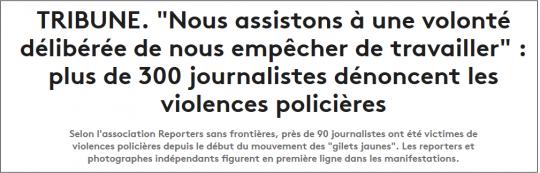 FranceInfo le 01/05/2019