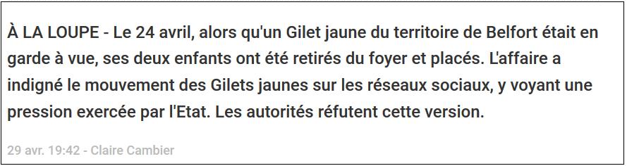 LCI le 26/04/2019