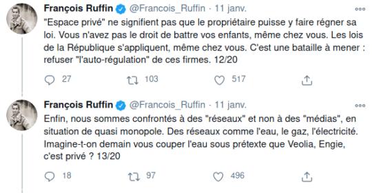 Tweets de  François Ruffin