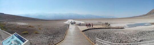 Badwater Basin, le point le plus bas de l'Amérique du Nord