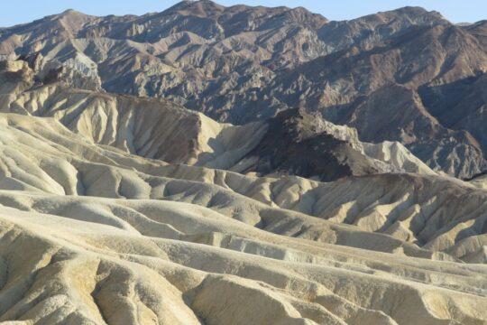Zabriskie Point dans Death Valley