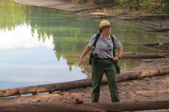 La Ranger explique Clear Lake