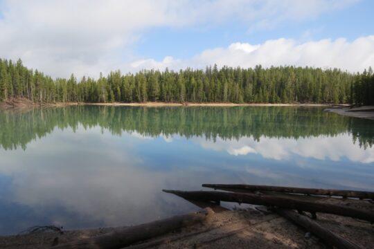 Clear Lake, beau non ? Poiurtant il pue les oeufs pourris et peut être dangereux