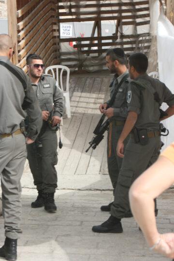 A tous les coins de rue à Jérusalem