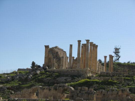 Temple de Jupiter à Gerasa