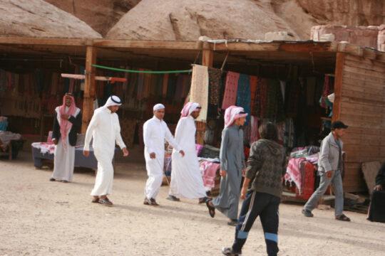 Bédouins à Little Petra