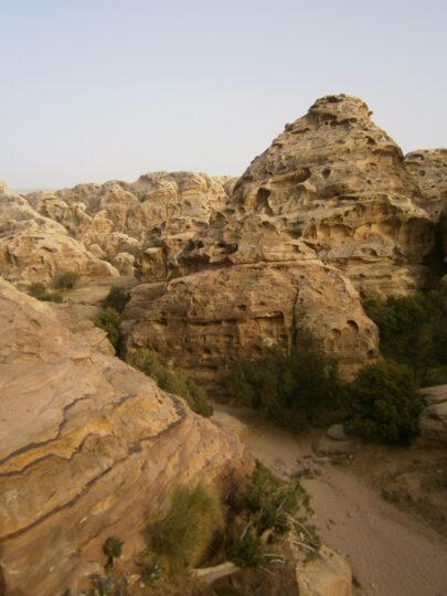 Paysage près de Petra