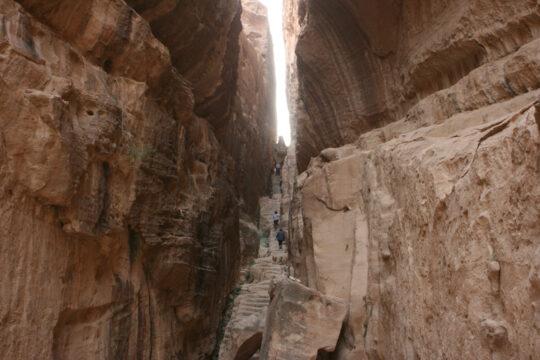 Siq (canyon) dans Little Petra