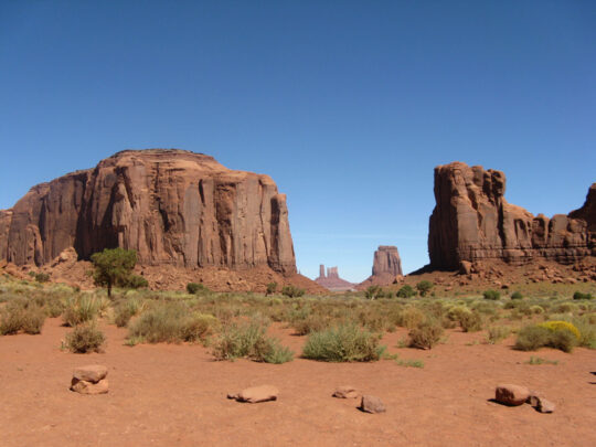 Eh non ! Ca c'est Monument Valley en Arizona